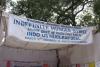 Hunger strike tent, Delhi